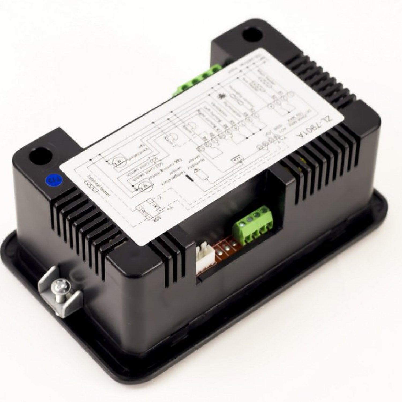Терморегулятор LILYTECH ZL-7901A (темп + влажность + 3 таймера)