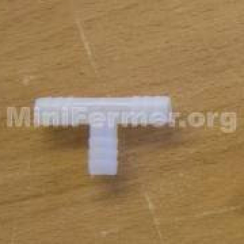 Тройник разветвитель для систем поения 10 мм