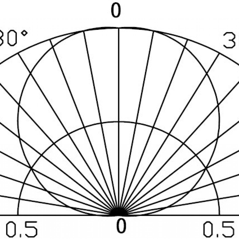 """Фито светодиод 3 Вт полный спектр (full spectrum LED) на PCB """"звезда"""" 400-800 нм."""