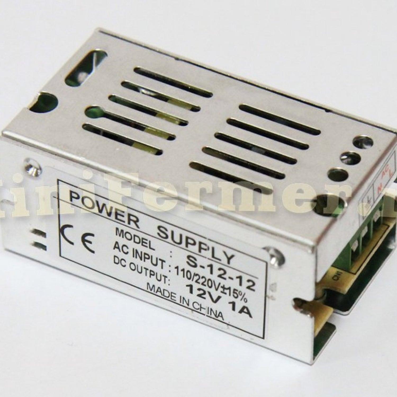 Блок питания 220V AC /12V DC (1A)