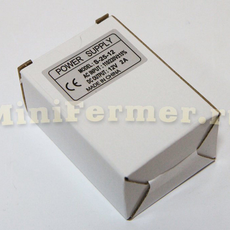 Блок питания 220V AC /12V DC (2A)