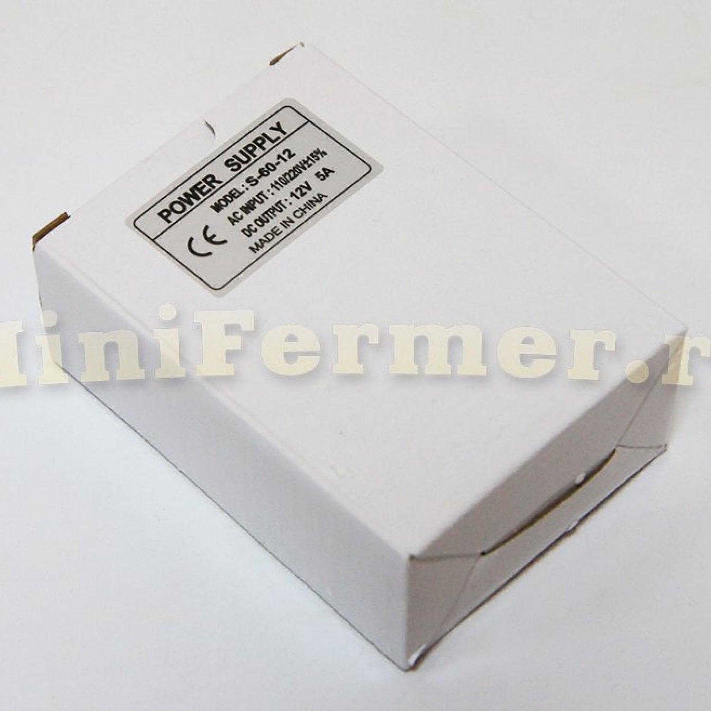 Блок питания 220V AC /12V DC (5A) small
