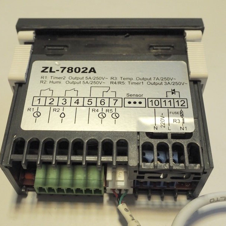 Терморегулятор LILYTECH ZL-7802A