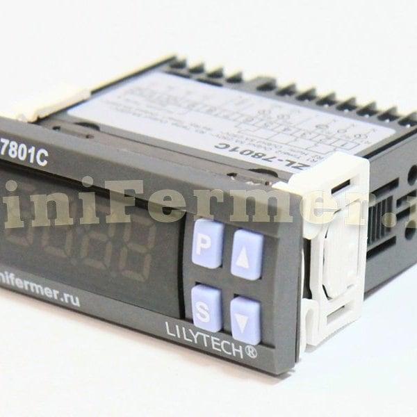 Терморегулятор LILYTECH ZL-7801C ТИП-2 (темп + влажность + 2 таймера)